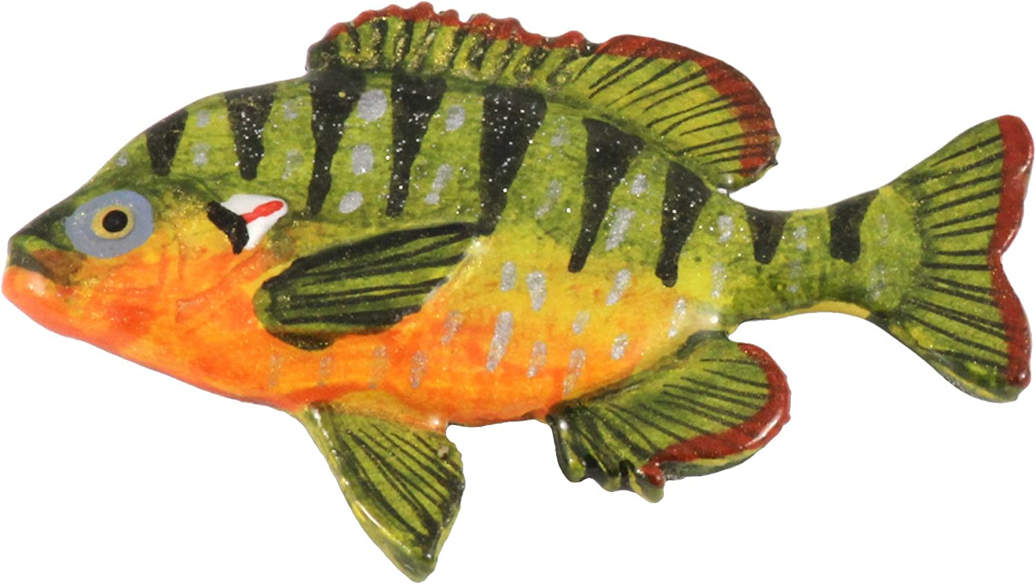 famous Creative Pewter Designs Pumpkinseed Handcrafted Fish Freshwater New arrival