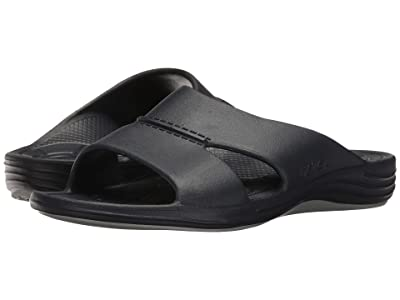Aetrex Lynco Slide (Navy) Men
