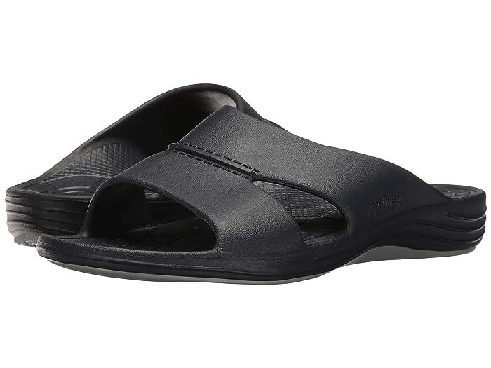 Aetrex  Lynco Slide (Navy) Mens Sandals