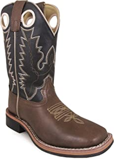 Smoky Mountain Kids Blaze Square Toe Boots