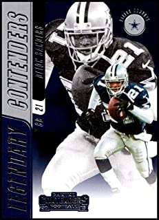 2018 Panini Contenders Legendary Contenders #LC-DS Deion Sanders Dallas Cowboys Football Card