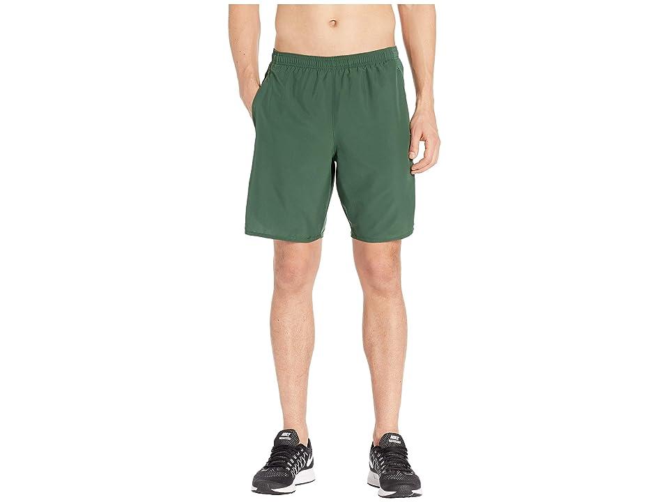 Nike Challenger Shorts 9 BF (Fir/Fir/Metallic Silver) Men