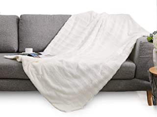 Cheer Collection Ultra Soft Faux Fur to Microplush Reversible Cozy Warm Throw Blanket - 60