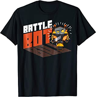 Battle Bot T-Shirt Robots Wars Fighting Shirt