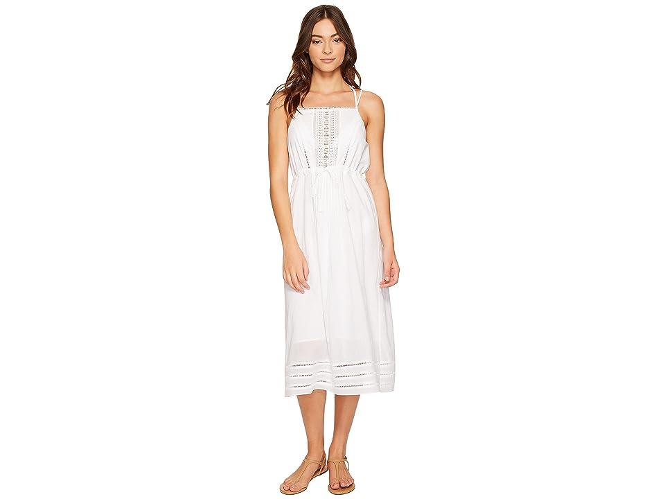 Vitamin A Swimwear Beachwood Dress Cover-Up (White Gold Coast Cotton Voile) Women