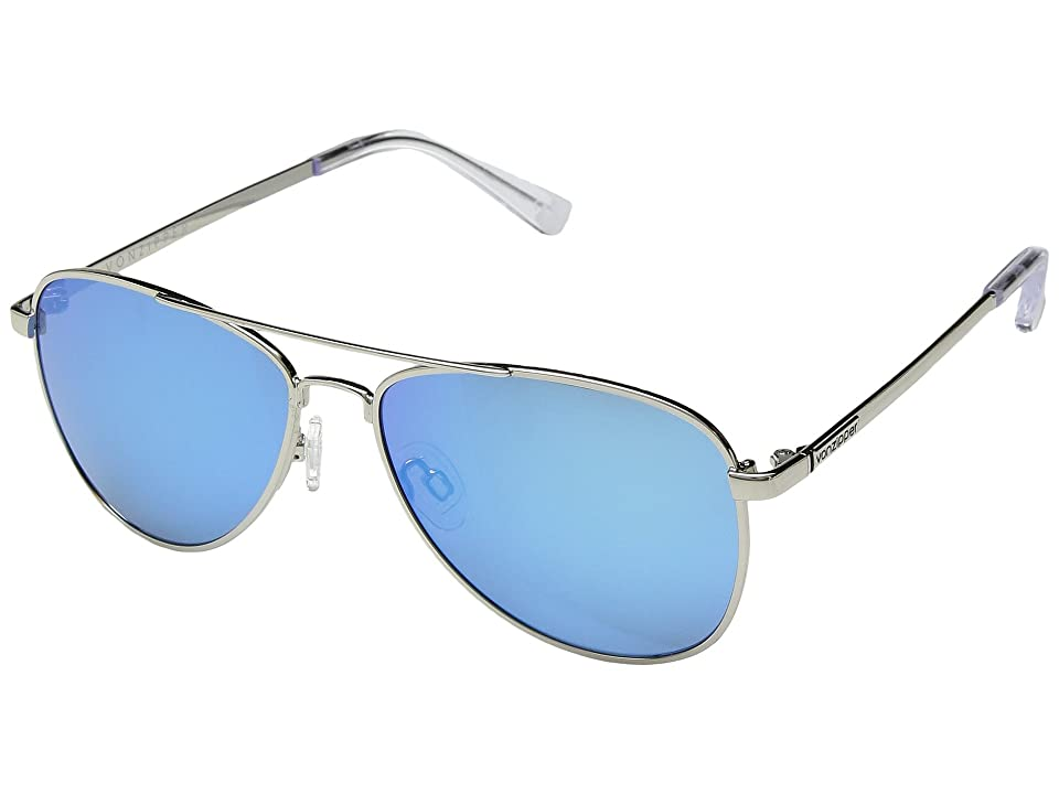 VonZipper Statey (Silver/Ice Chrome) Sport Sunglasses