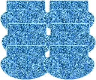 N / A Youriaa Pack de 6 mopas para AMIBOT Prime/Pure/Pulse/Flex H2O Almohadillas de Limpieza