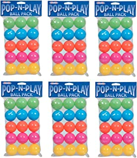Marshall Pet Products Pop-N-Play Ball Pack (6-pack)