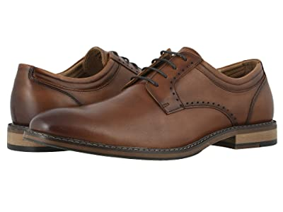 Stacy Adams Faulkner Plain Toe Oxford (Cognac) Men