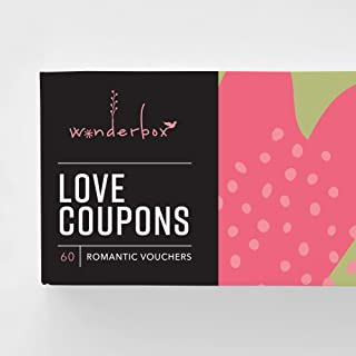 Funny Love, Romantic Coupons for Couples, Him, Her, Boyfriend, Girlfriend, Husband, Wife - Paper Anniversary, Love, Romance Gift