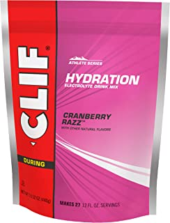 CLIF HYDRATION ELECTROLYTE DRINK - Cran Razz - (15.5 Ounce, 1 Pouch)