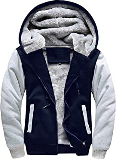 hollister sherpa lined contrast hoodie