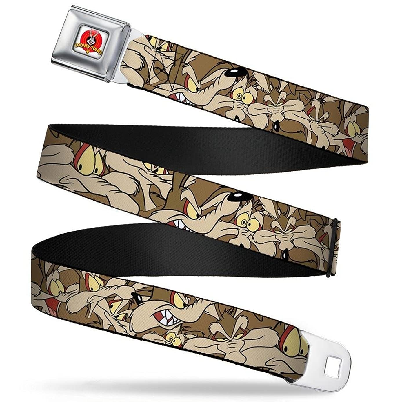 Buckle-Down Seatbelt Belt Wile E. Coyote Wltwc003