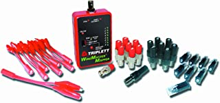 Triplett WireMaster 8-Way Wire-Cable Mapping Kit -Tracer Tone, 39 Remotes, & Carry Case - Maps & Identifies Any Multi-Conductor Cable Test For Open & Shorts on BNC, F, RJ-11/RJ-45, & Bare-Ware -(3281)