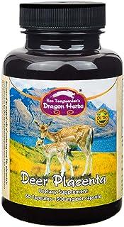Dragon Herbs - Deer Placenta 500 mg - 60 Capsules
