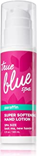 Bath and Body Works True Blue Spa Hand Look Ma New Hands Softening Hand Lotion with Paraffin Spa Size 5 Ounce Pump Bottle
