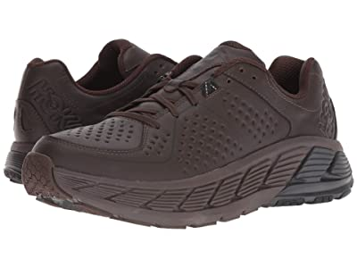 Hoka One One Gaviota Leather (Demitasse/Black) Men
