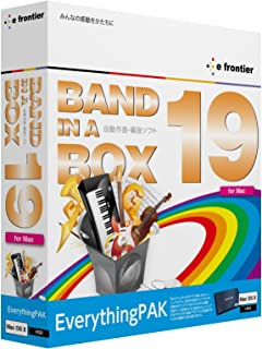 Band-in-a-Box 19 for Mac EverythingPAK