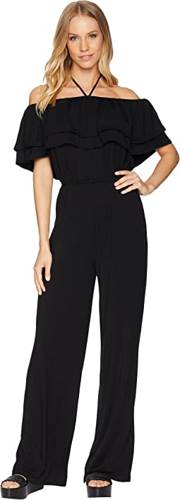 Aryes Off the Shoulder Jumpsuit