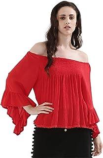 Koovs, Off Shoulder Blouse For Women