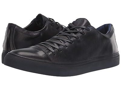 John Varvatos Collection Reed Low Top Sneaker (Steel Blue 1) Men