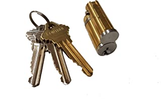 Pacific Doorware LFIC Lock IC Core Cylinder & Keys with Control Key, Fits Schlage and Others