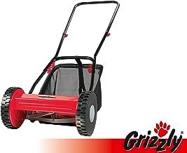 Grizzly Cortacésped manual elicoidal HRM 300–3con cesto de recogida