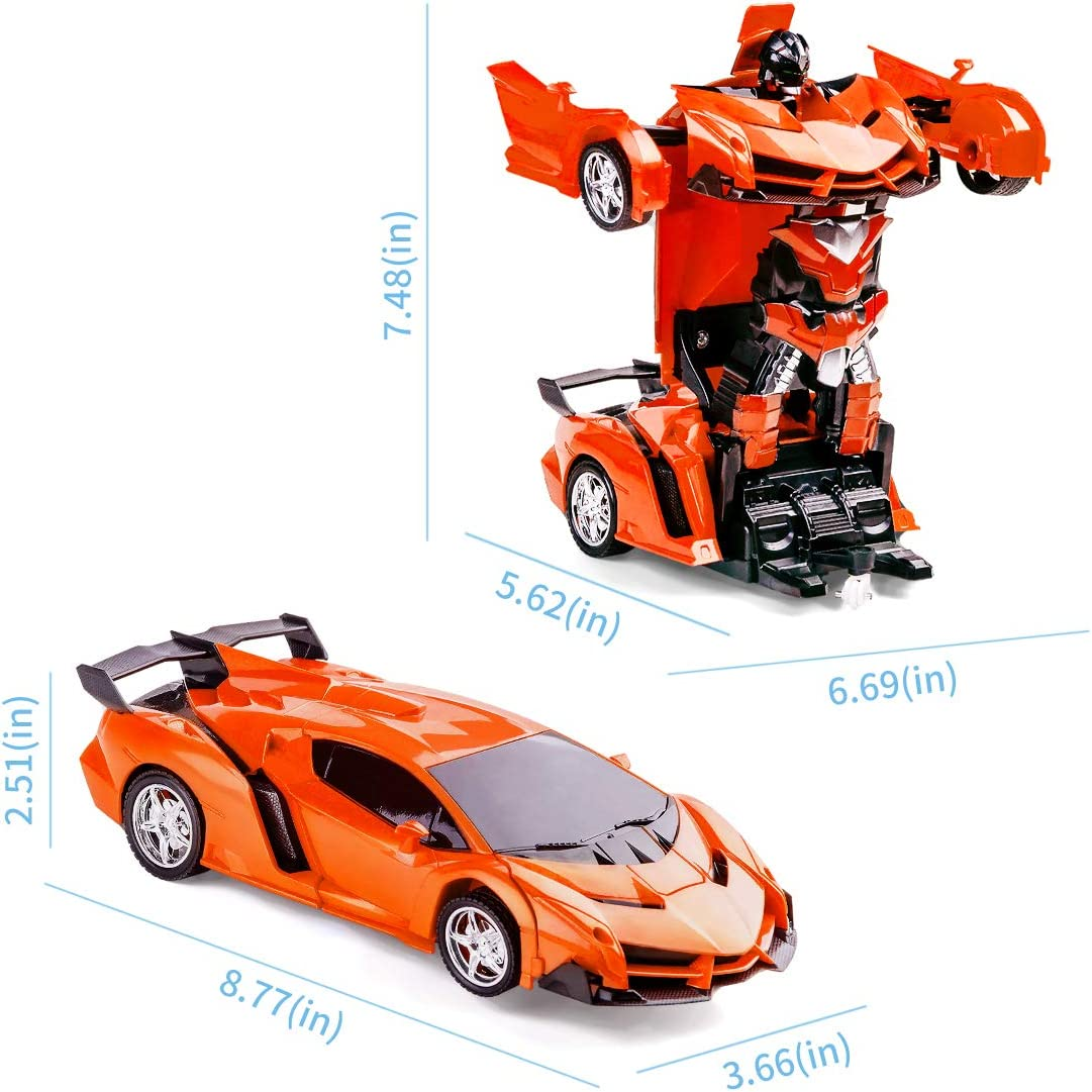 Refasy Children Remote Control Deformation Cars Toys for Kids-Hot Gift