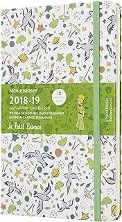 モレスキン 手帳 限定版 星の王子さま 2018-2019年版 7月始まり ウィークリー ハード ラージ DPP18WN3Y19