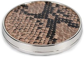 styleBREAKER Joyas de imán para Damas Broche Redondo con patrón de Serpiente Animal Print, para Bufandas, chales, Ponchos,...