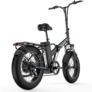 "Martes Bicicleta eléctrica plegable Fat Tire 20 4"""
