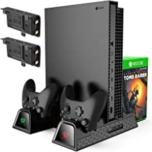 KINGTOP Vertical Cooling Stand Compatible with Xbox...