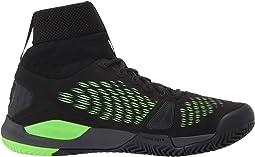 Black/Ebony/Green Gecko