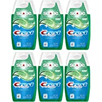 6-Pack Crest Complete Whitening Plus Scope Liquid Gel Toothpaste