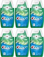 Crest Complete Whitening Plus Scope Multi-Benefit Fluoride Liquid Gel Toothpaste, Minty Fresh, 4.6 Ounce (Pack of 6)