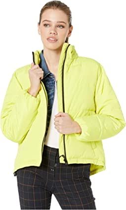 Just Chill Cropped Puffa Jacket