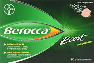 Berocca Boost Multivitamin Tablets - Pack of 20 by Berocca