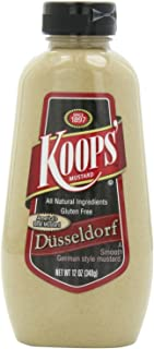 Koops Mustard Dusseldorf Squeeze, 12-ounce (Pack of 2)