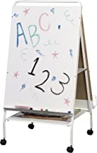 Best-Rite Baby Folding Easel with Middle Storage Tray, Teacher Easel Station (784)