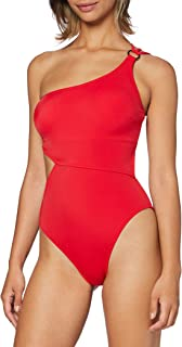 Marchio Amazon - Iris & Lilly Costume da Bagno con Cut out Donna