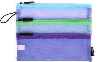 Miamica Women's Travel Pouch, Blue-Mint-Purple