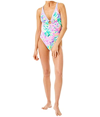 Lilly Pulitzer Stephie One-Piece (Multi It Was All A Dream Engineered Swim) Women