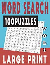 WORD SEARCH LARGE PRINT 100 PUZZLES VOL 1 (WORD SEARCH LARGE PRINT PUZZLES) PDF