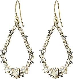 Alexis Bittar - Crystal Encrusted Spiked Tear Earrings