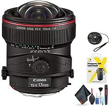 Canon TS-E 17mm f/4L Tilt-Shift Lens for Canon EF Mount + Accessories (International Model)