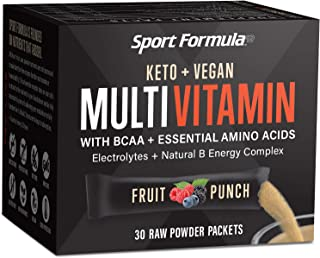 Liquid Multivitamin Drink Mix Vitamin Powder BCAA Won't Upset Your Stomach Daily Keto MultiVitamin for Men and Women Amino...