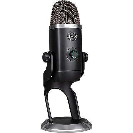 Blue Microphones Yeti X Professionelles Usb Mikrofon Für Gaming Streaming Und Podcasts Schwarz Musikinstrumente
