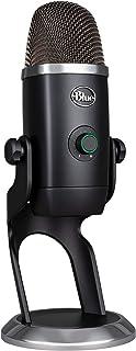 Blue Microphones Yeti X professionelles USB Mikrofon für Gaming, Streaming und Podcasts, Schwarz