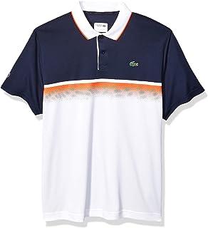 Lacoste Men's Sport Short Sleeve Ultra Dry Gradient Print Polo