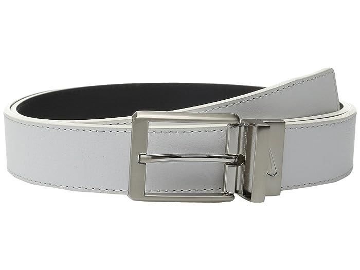 Nike Core Reversible Belt (White/Black) Men